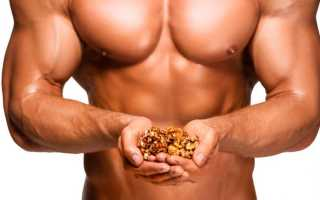 Арахис для набора мышечной массы