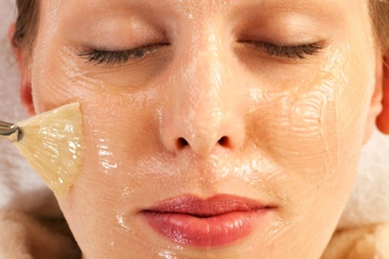 Арахисовое масло для лица